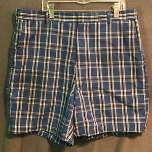 Cotton polyester vintage golf shorts size 34